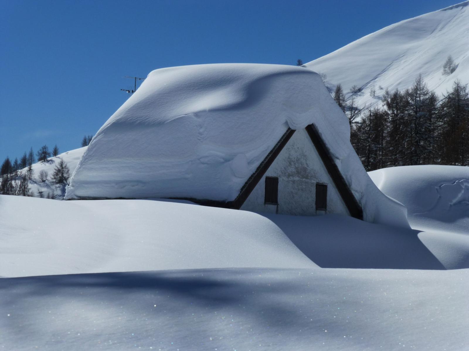 Arrivo all'Alpe