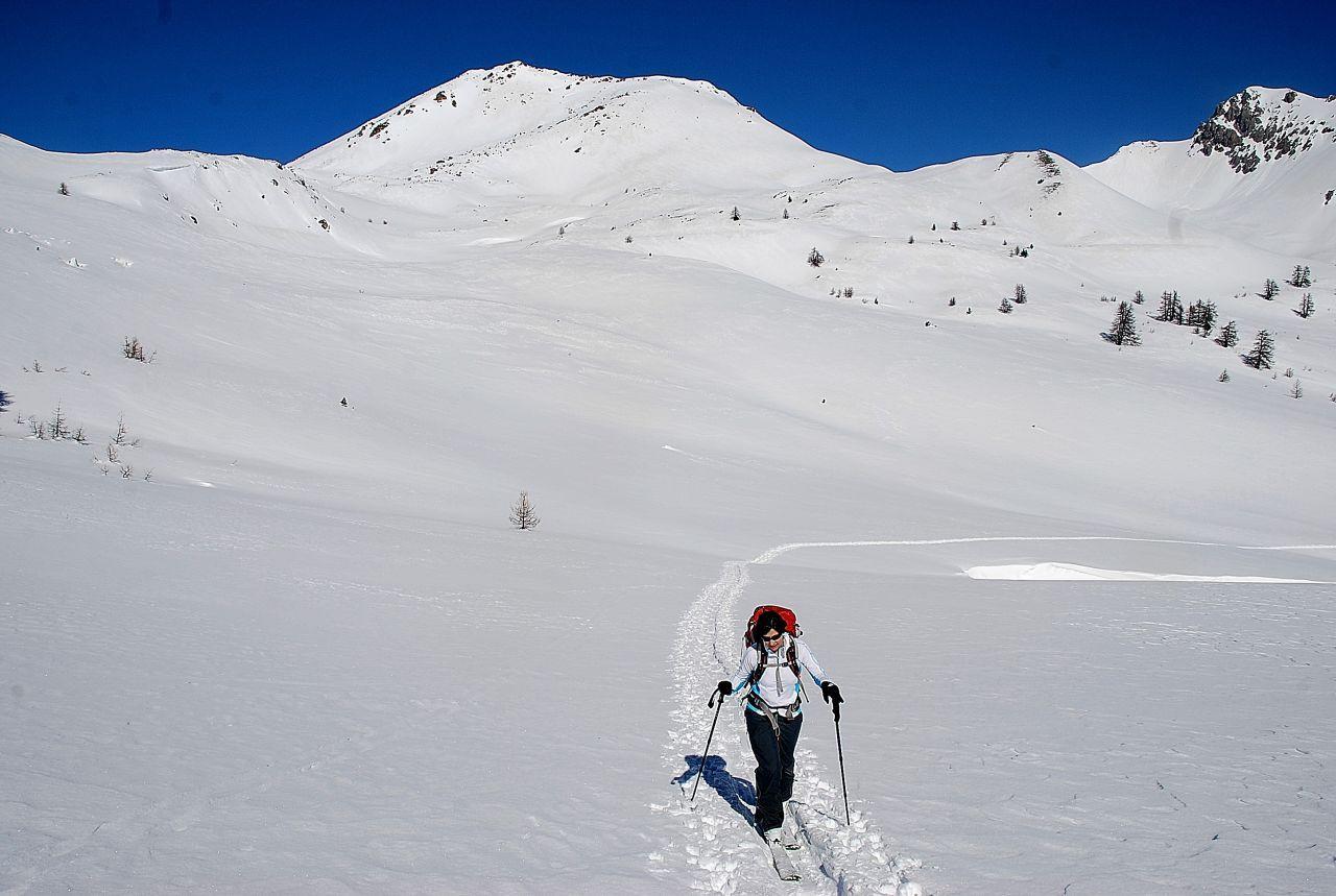 Granon (Col de) da La Draye 2014-03-06