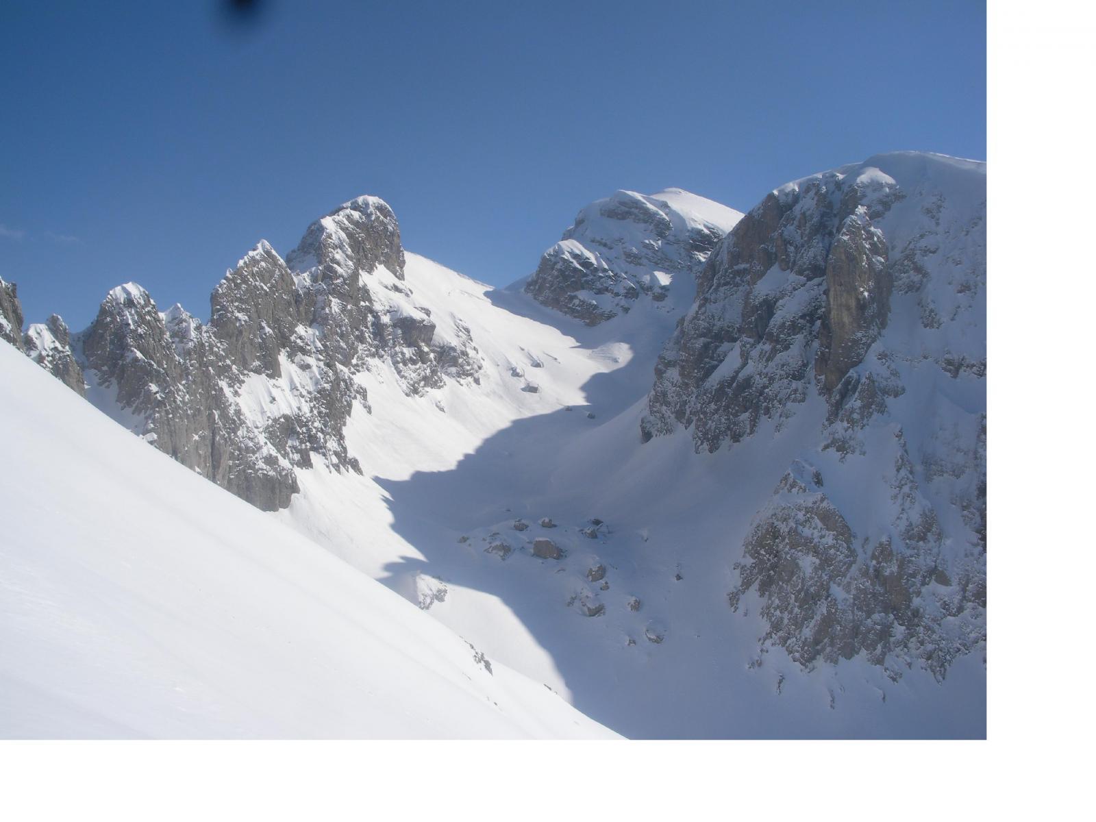 Jurin (Monte) e Punta Mirauda da Limone Piemonte, anello 2014-03-06