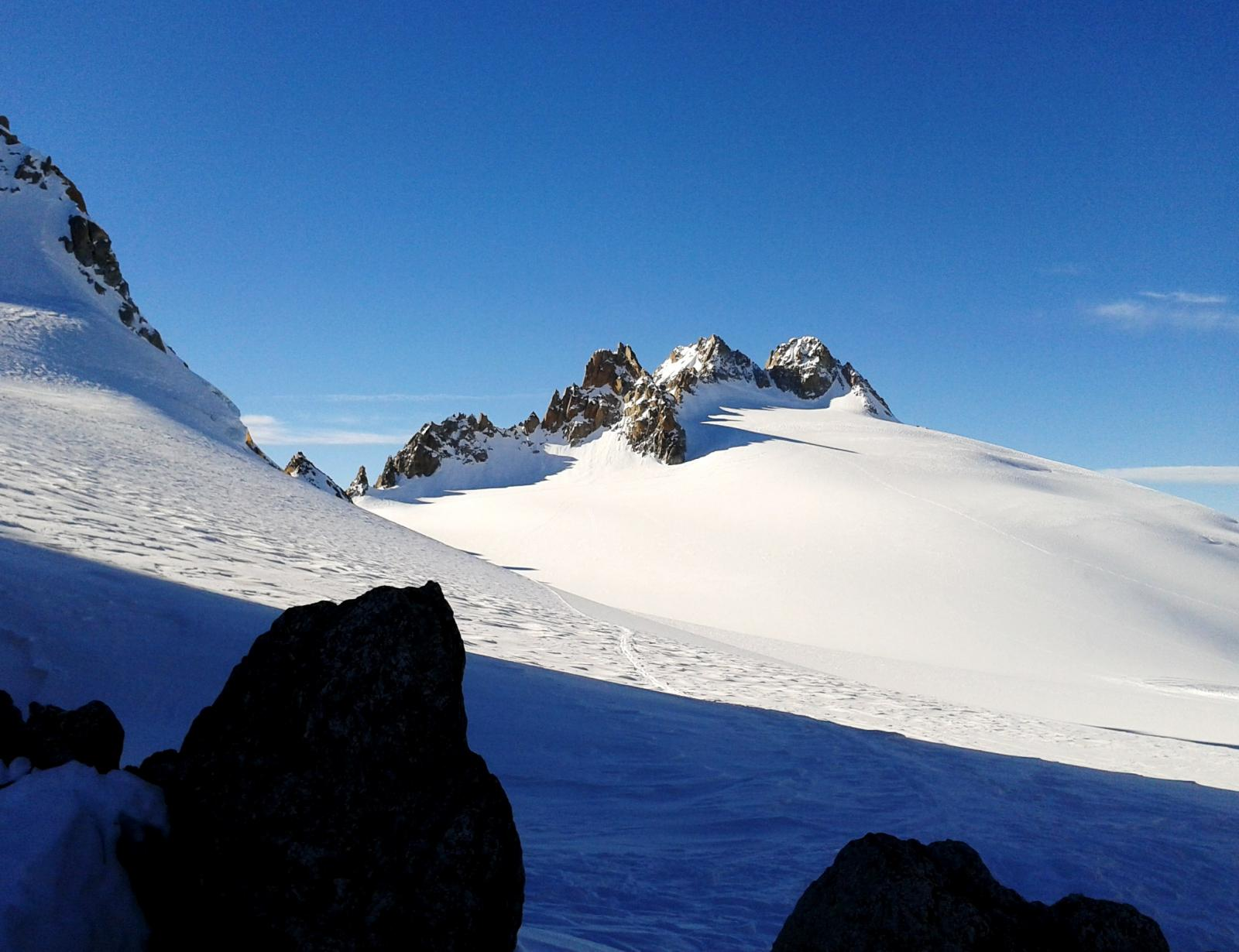Plateau du Trient e Aig. du Tour