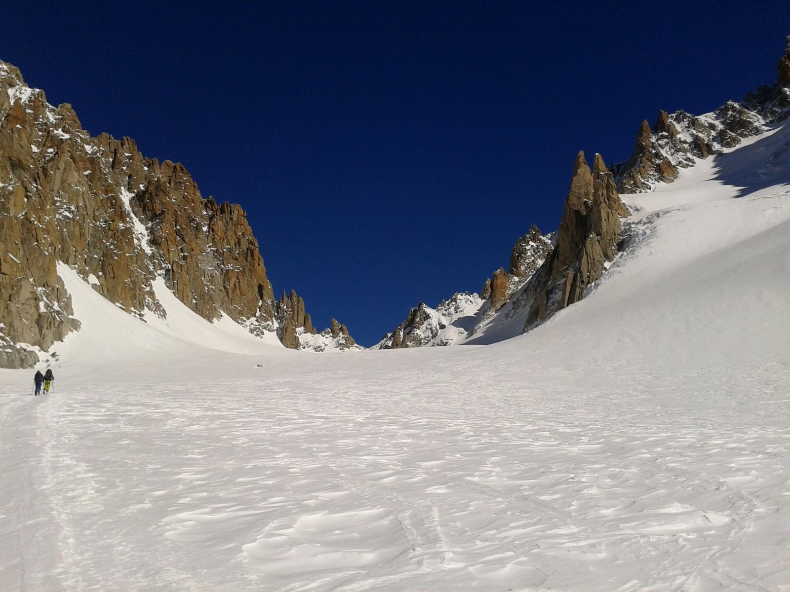 Verso il Col du Chardonnet