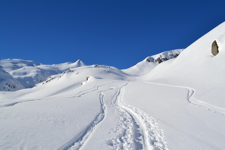 sentiero invernale dopo Oberstafel