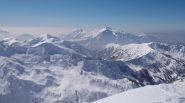 Grignetta e Grignone visti dalla cima del Mellasc