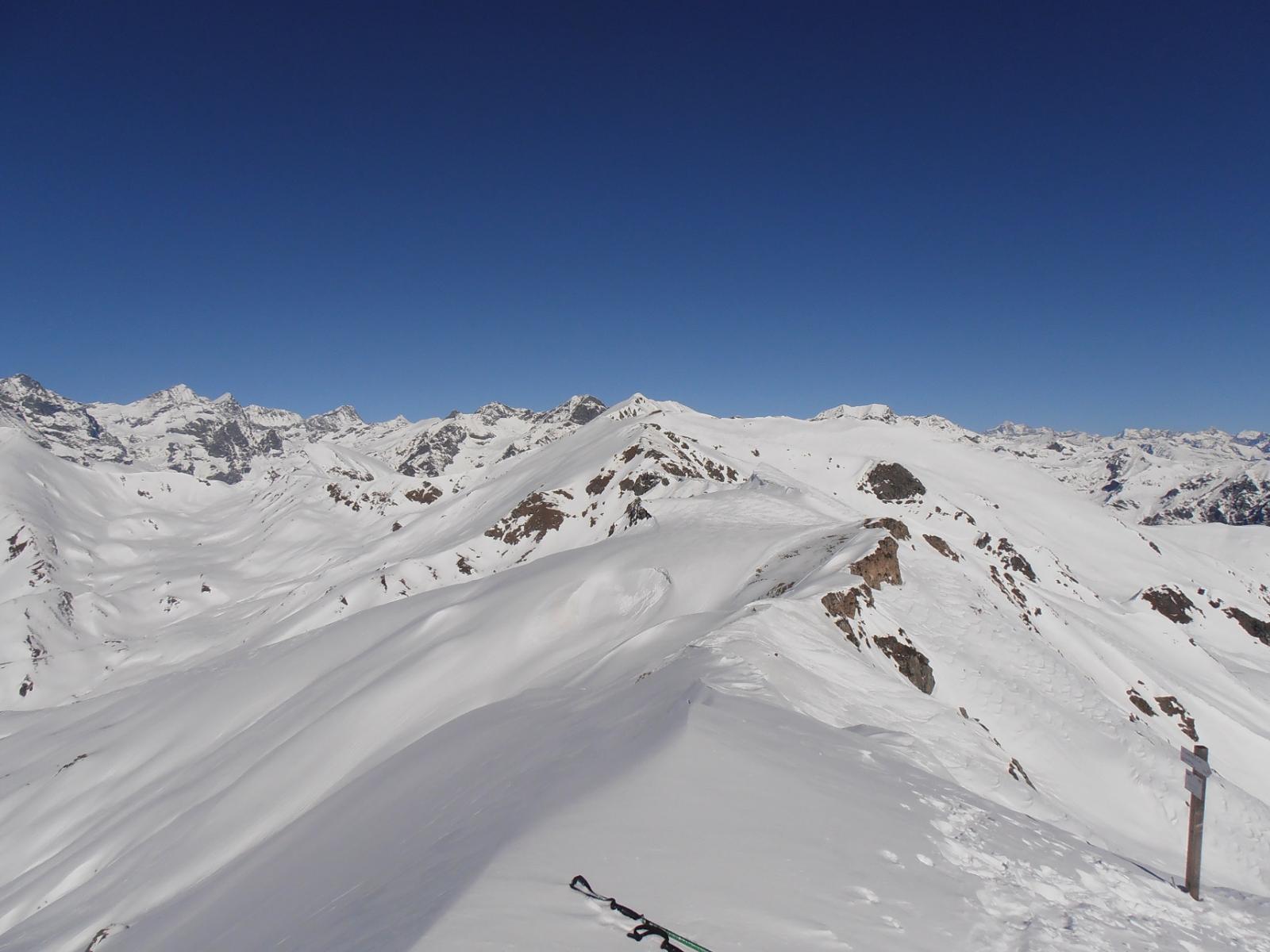 02 - Cresta verso la Punta Grifone