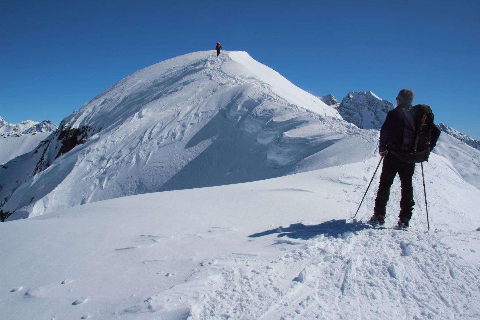 parte finale della cresta Ovest del Tochuhorn