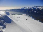 Rientro al versante Tuluit