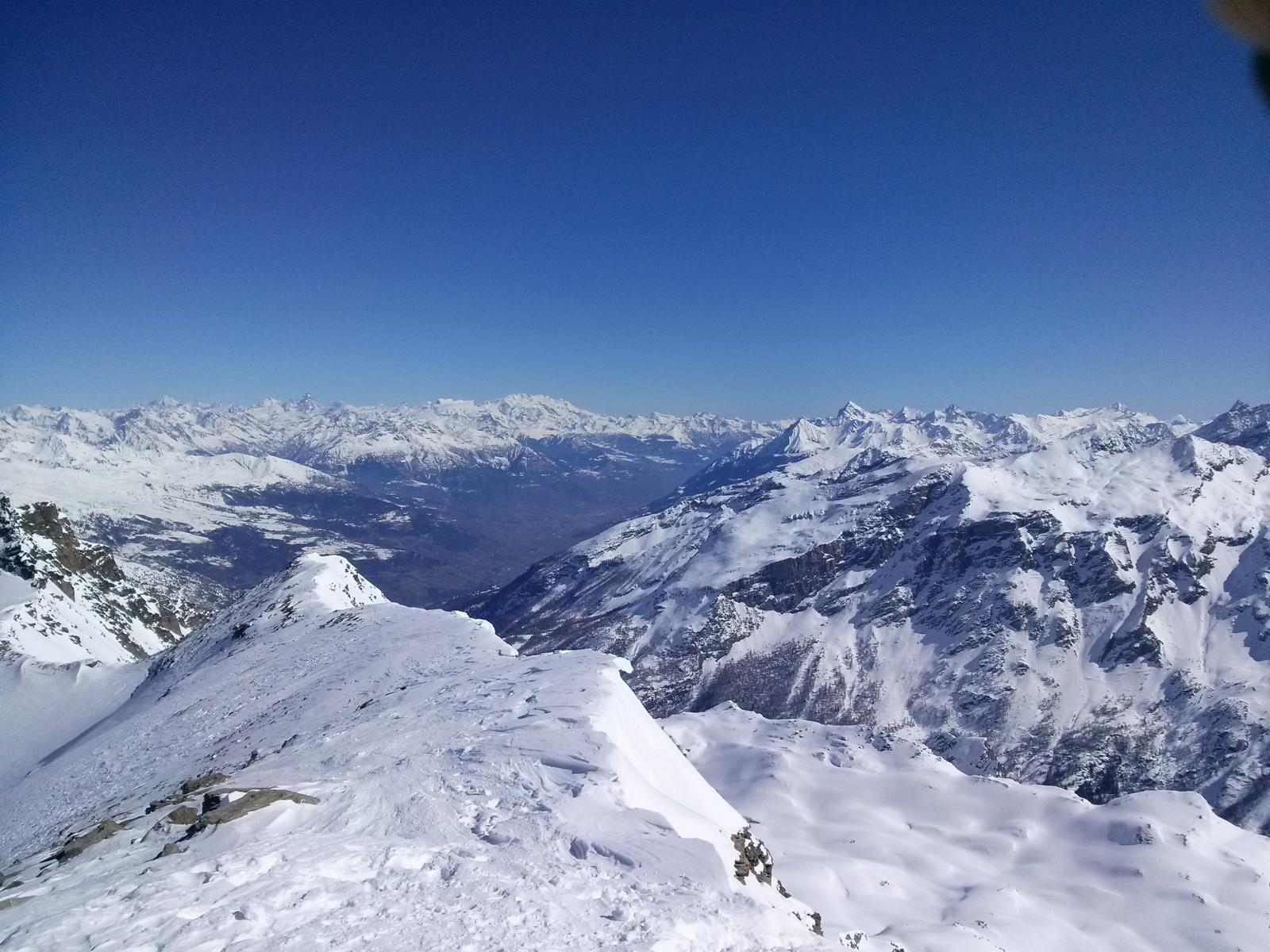 Panorama verso Aosta
