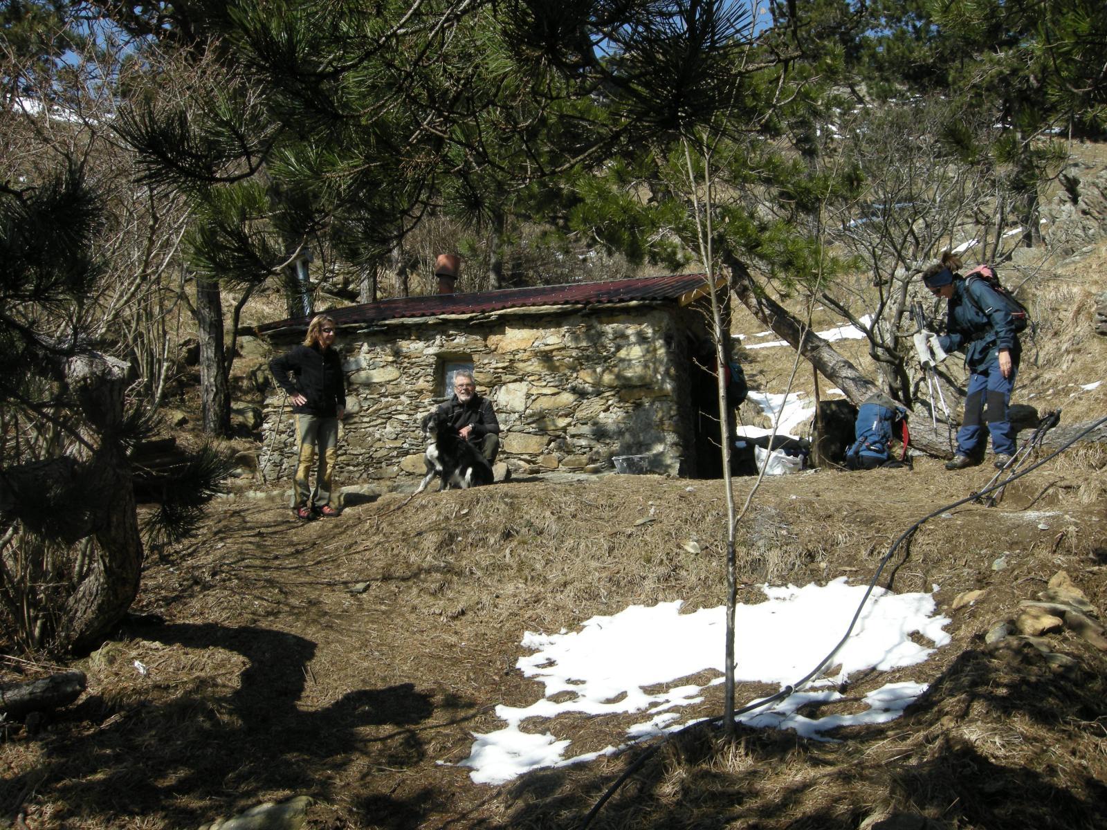 Vaccaria (Rocca) da Curlo per la cresta Lerbin o costa Guadì 2014-03-09