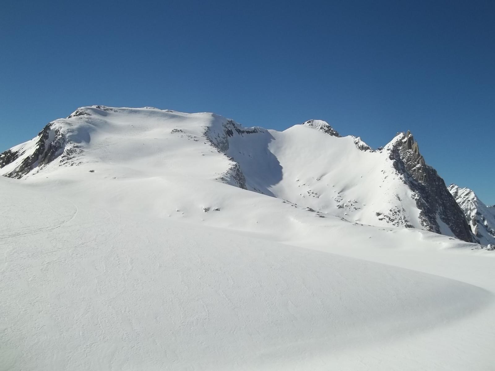 il Gerenpass con laghetto glaciale