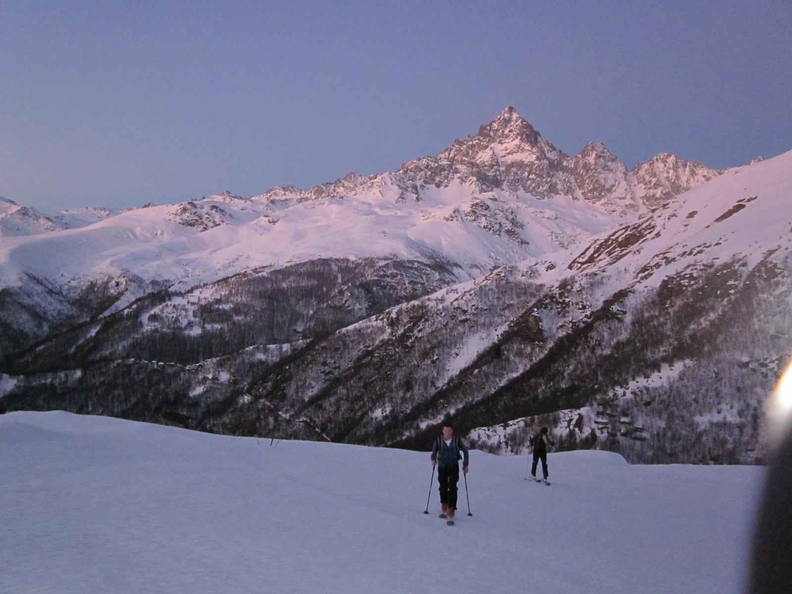 Queste sono le cose fantastiche della montagna..