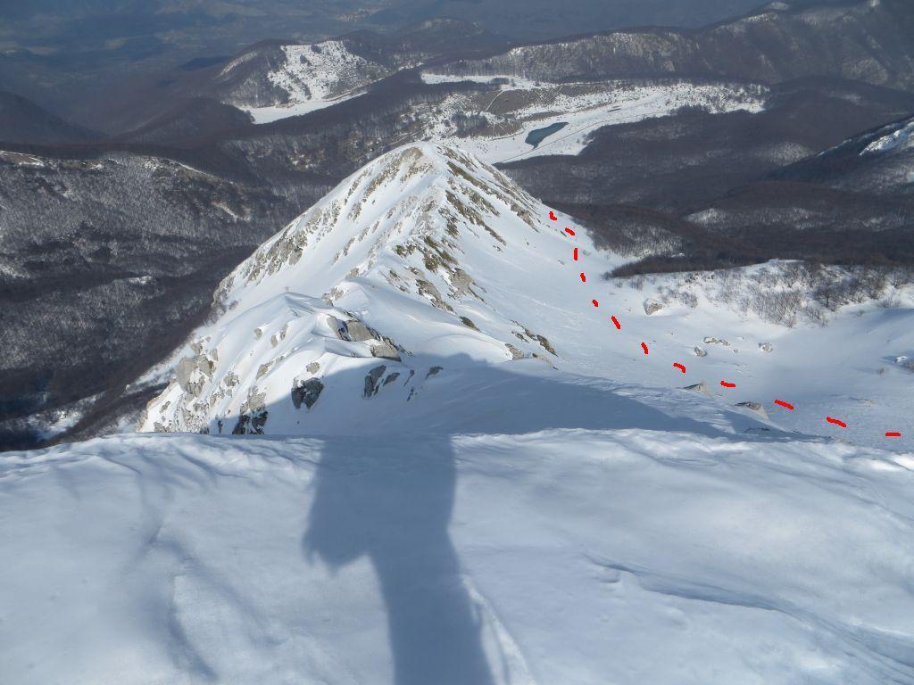 Metuccia (Monte) per la Conca Glaciale Orientale 2014-03-15