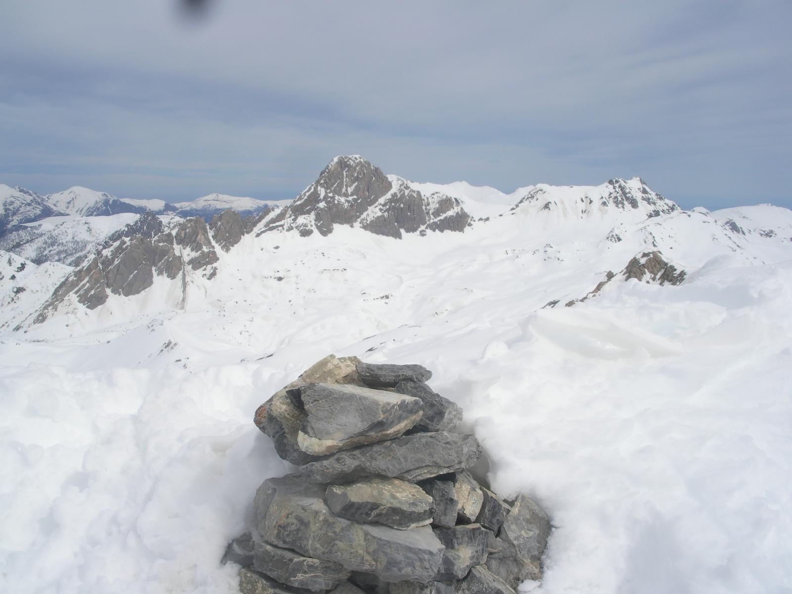 ancora la rocca qui dal Giordano..
