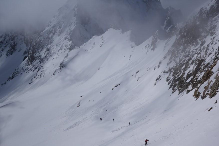 verso il deposito sci