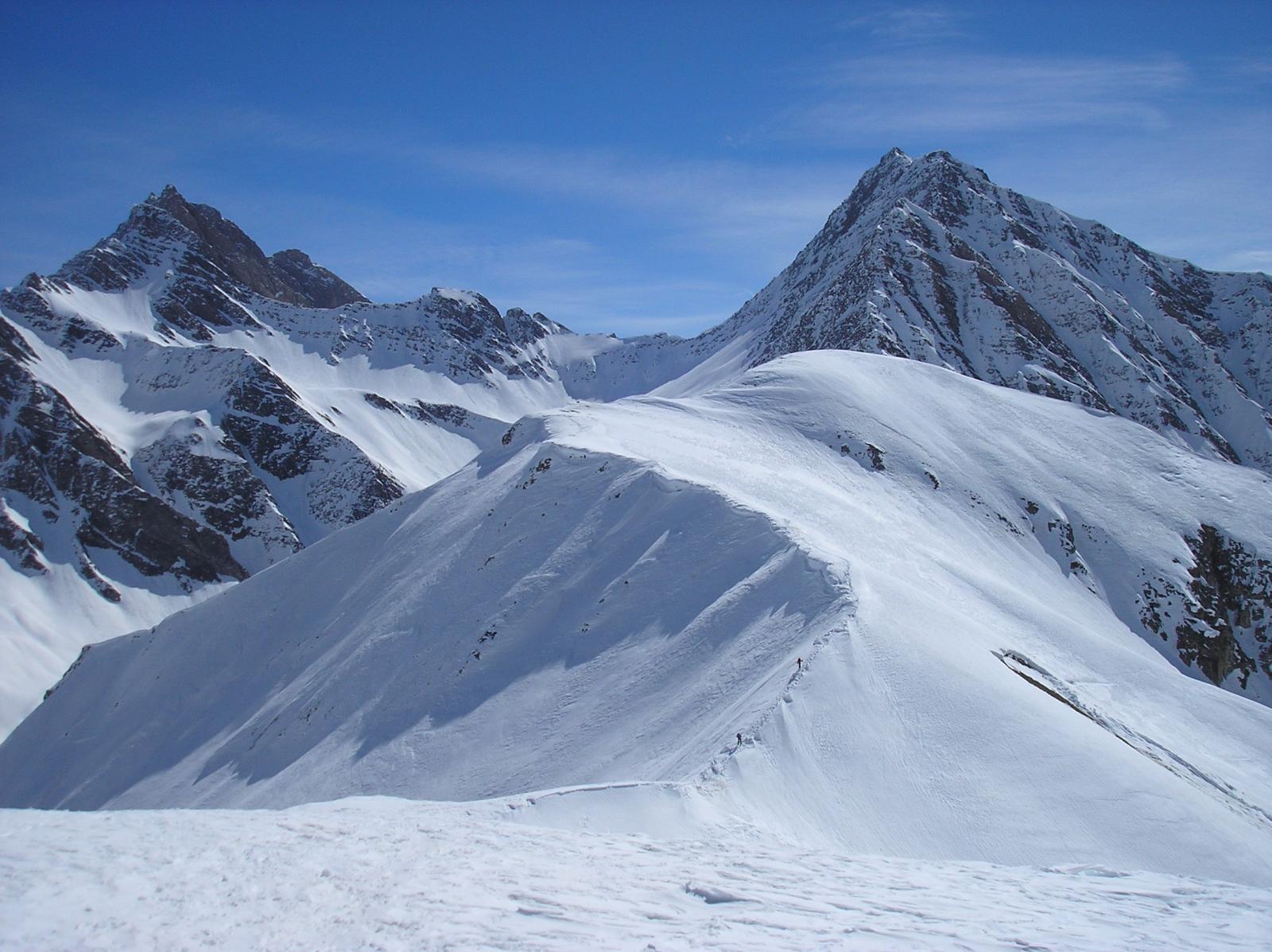 due skialp sulla cresta