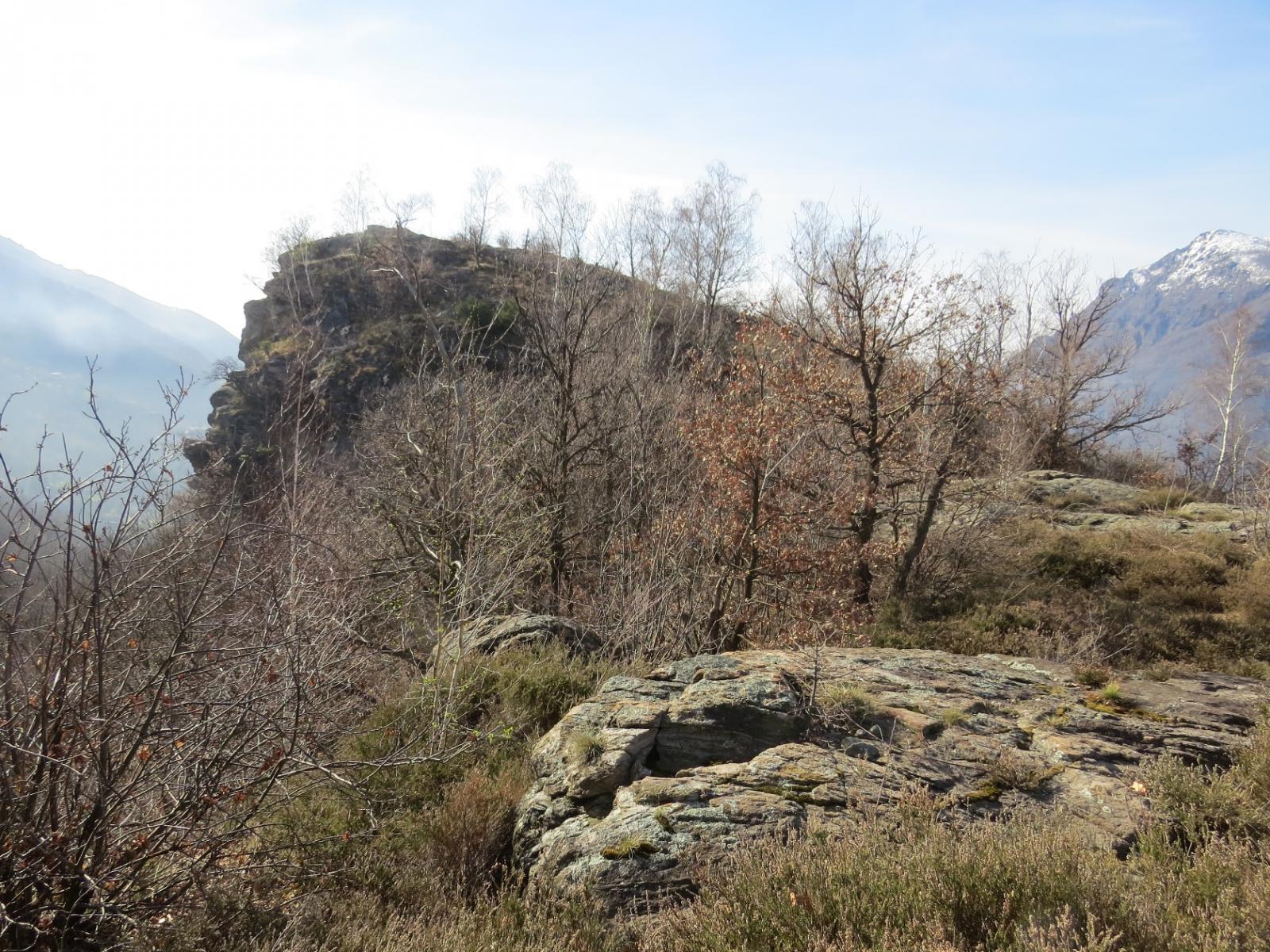 Arrivo al Monte Guarda
