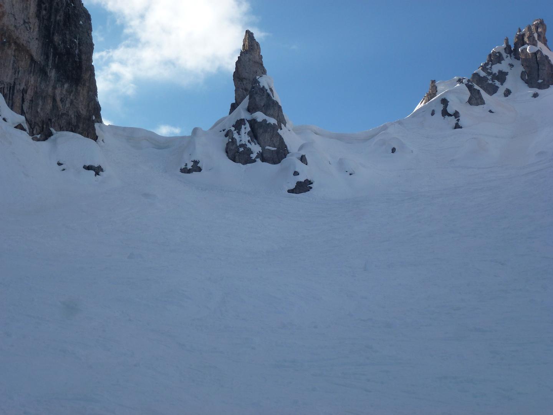 cornici al cadi della neve