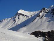 vista sui pendiii del Pic Blanc
