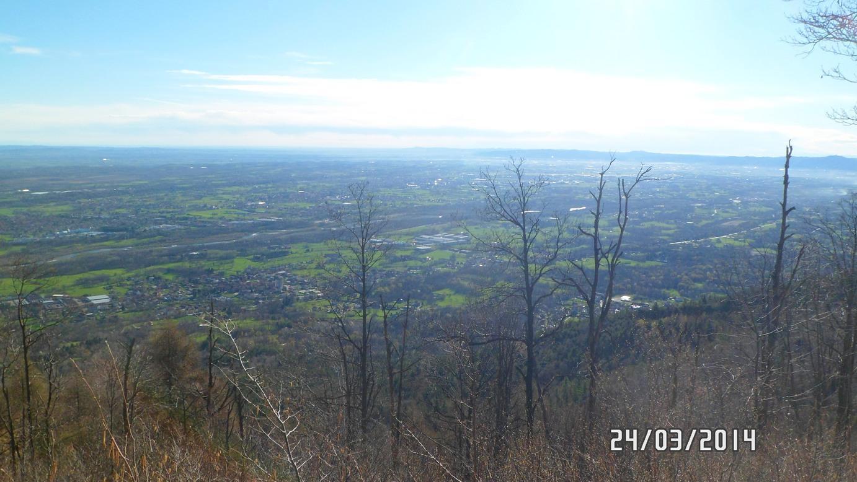 Corno (Monte) da Monasterolo Torinese 2014-03-24