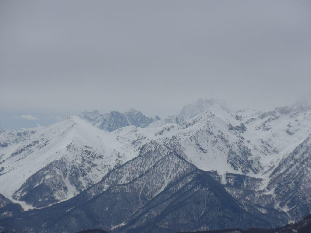 Alpi Marittime dalla cresta