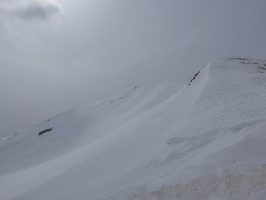 La cima dalla Pera Puntua