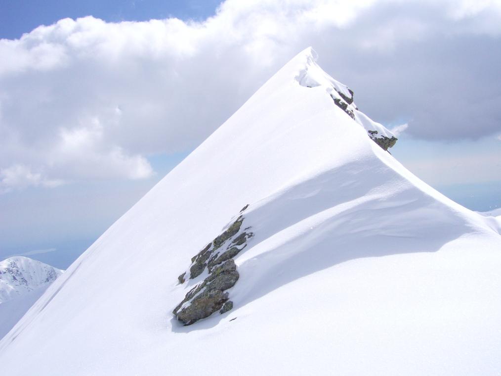 la cresta del Cavalcurt, un pò impraticabile
