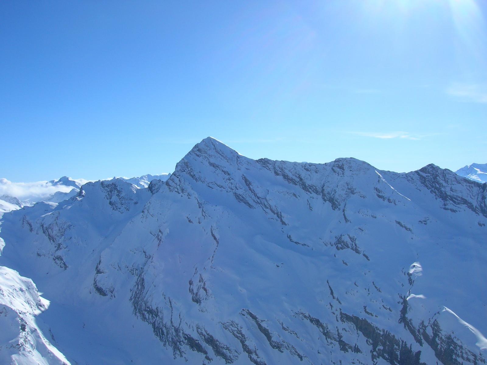 La Tersiva dalla cima del Rafray