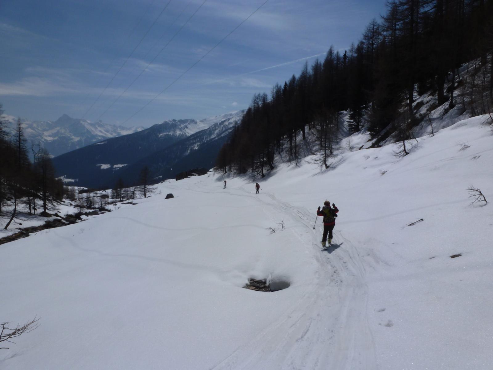 Arrivo a Montagna Barasson