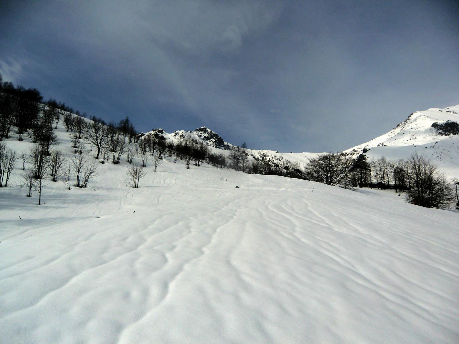 Attacco del versante nord della Roccia Frontera