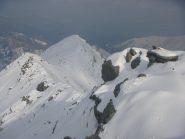 porzione intermedia di cresta Tirolo