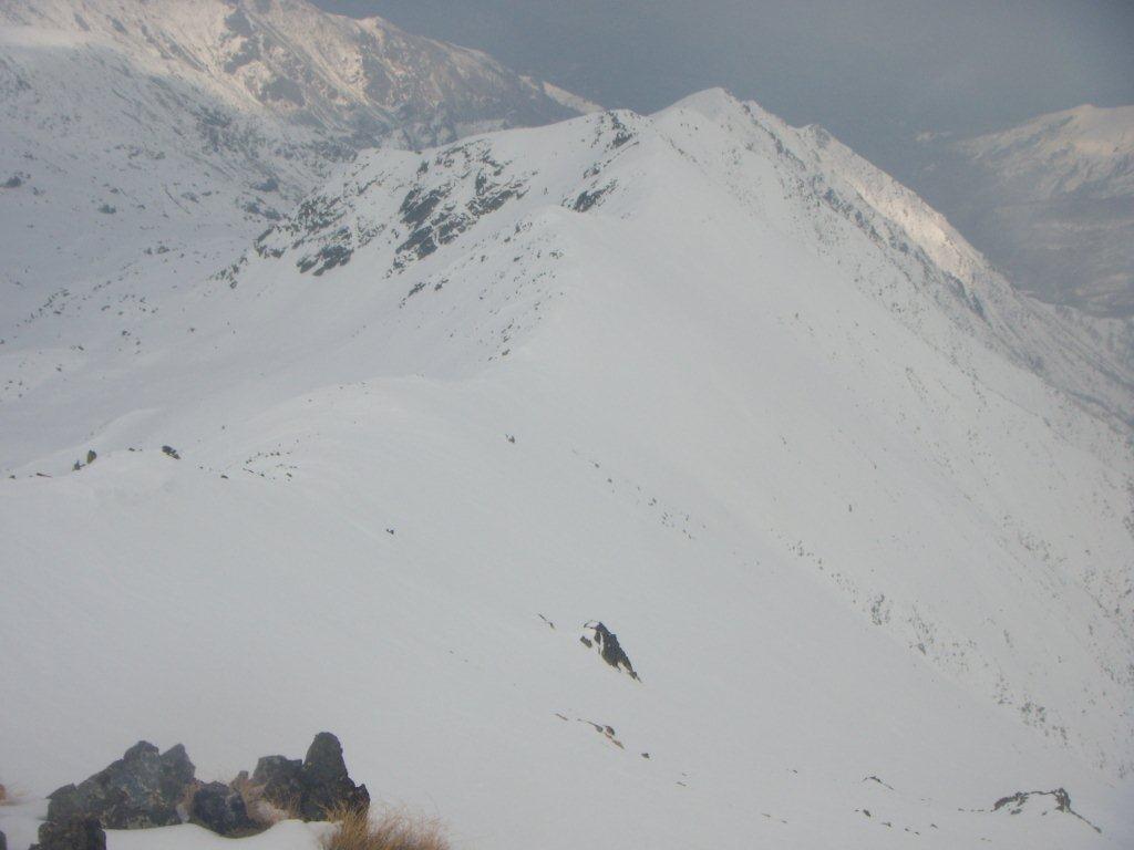 l'intera Cresta Tirolo da discendere