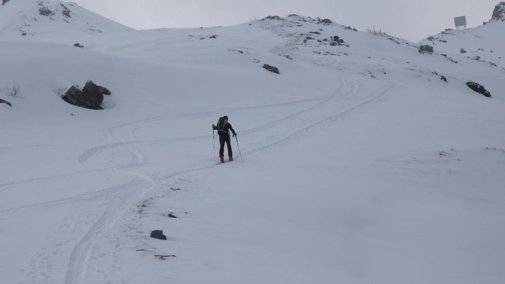 Verso gabbiotto arrivo skilift