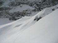 alpe del Termo -baite sepolte dalla neve sul crinale-