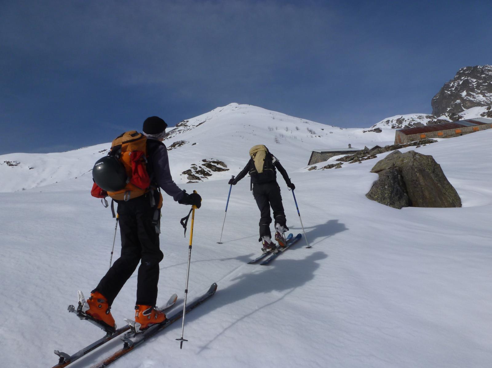 Arrivo all'alpe Ovarda