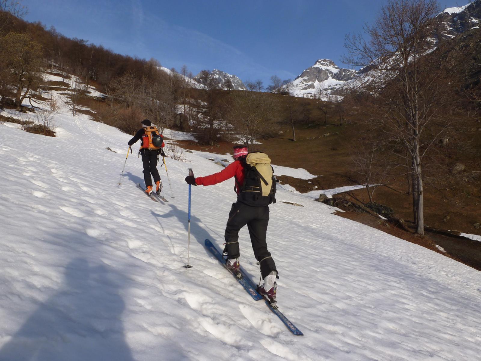 Neve nelle vallette