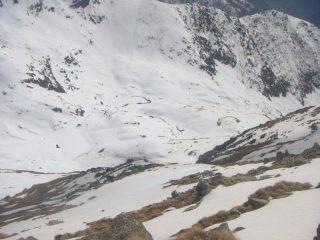 l'alpe cannaussa dalla cima