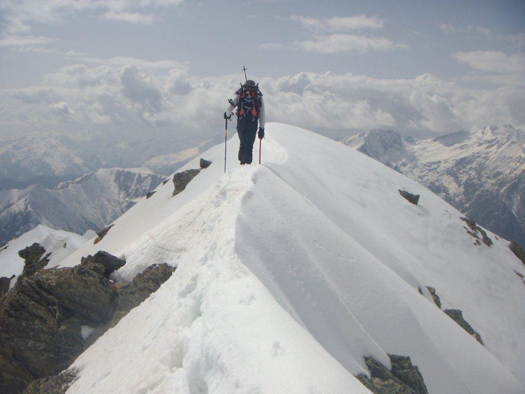la cima del Cannaussa
