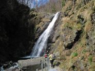 Alla cascata dell'Ovarda