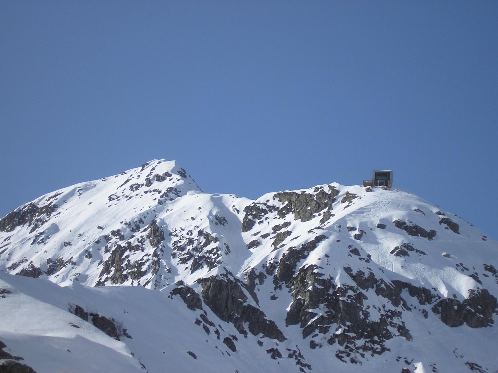 dall'anticima  la cresta  per il monte mucrone