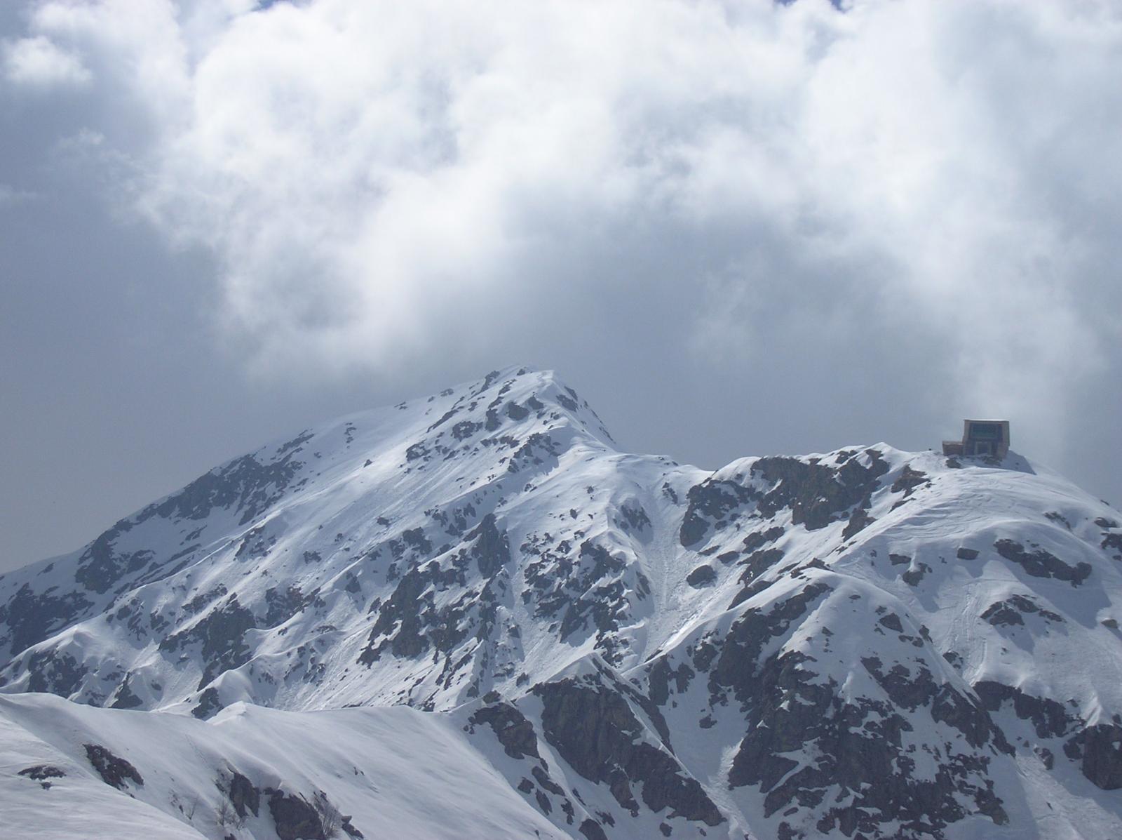 la  cresta finale per il monte mucrone