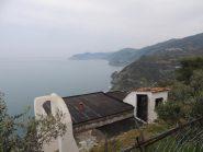 salendo sopra Riomaggiore