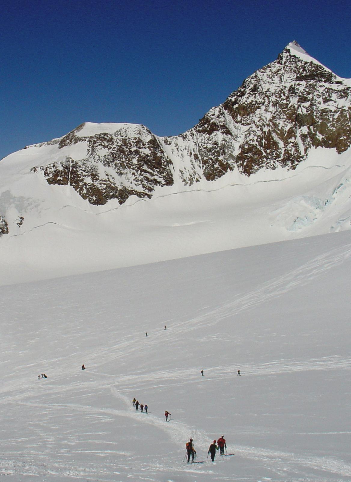 bivio prima del Col del Lys