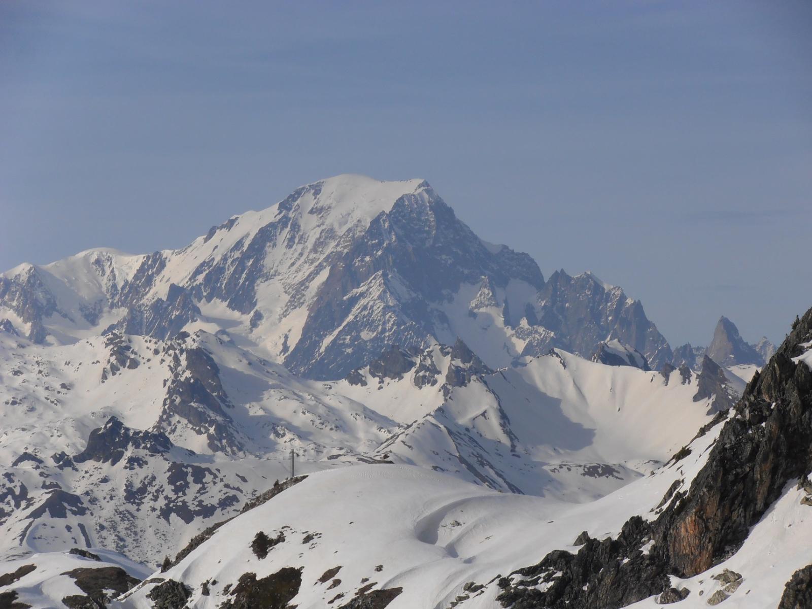 11 - Dettaglio Monte Bianco e Cresta di Peuterey
