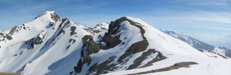 La Leysser e il Monte Rosso