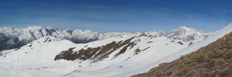 appare il Monte Bianco