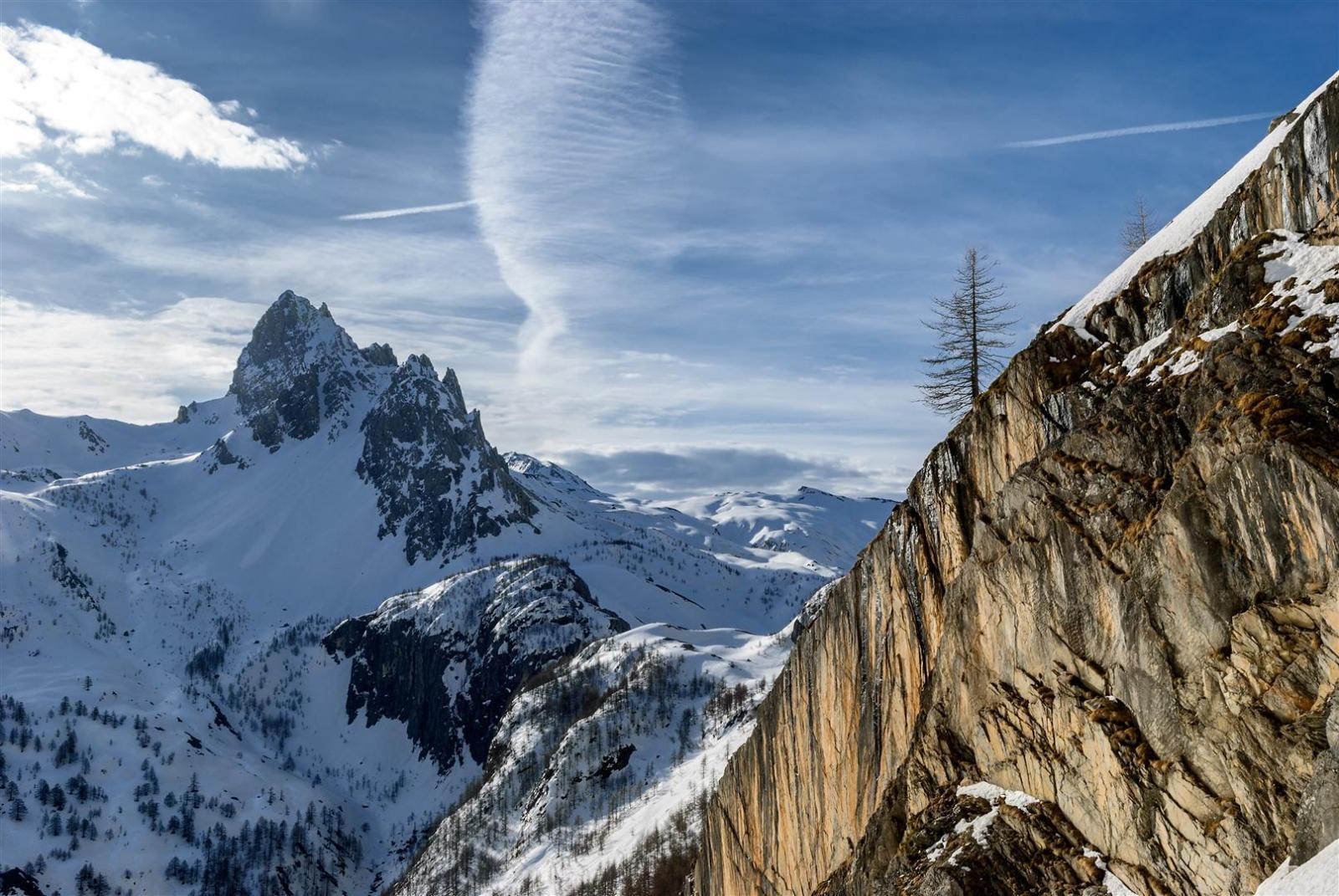 Cassorso (Monte), cima ovest da Preit per il Canalone SE 2014-04-08
