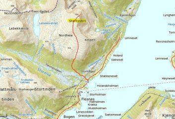 cartina dell'itinerario
