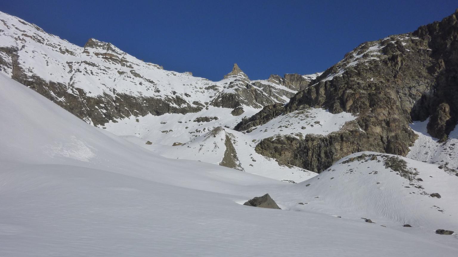 Parte alta del vallone di Bioula