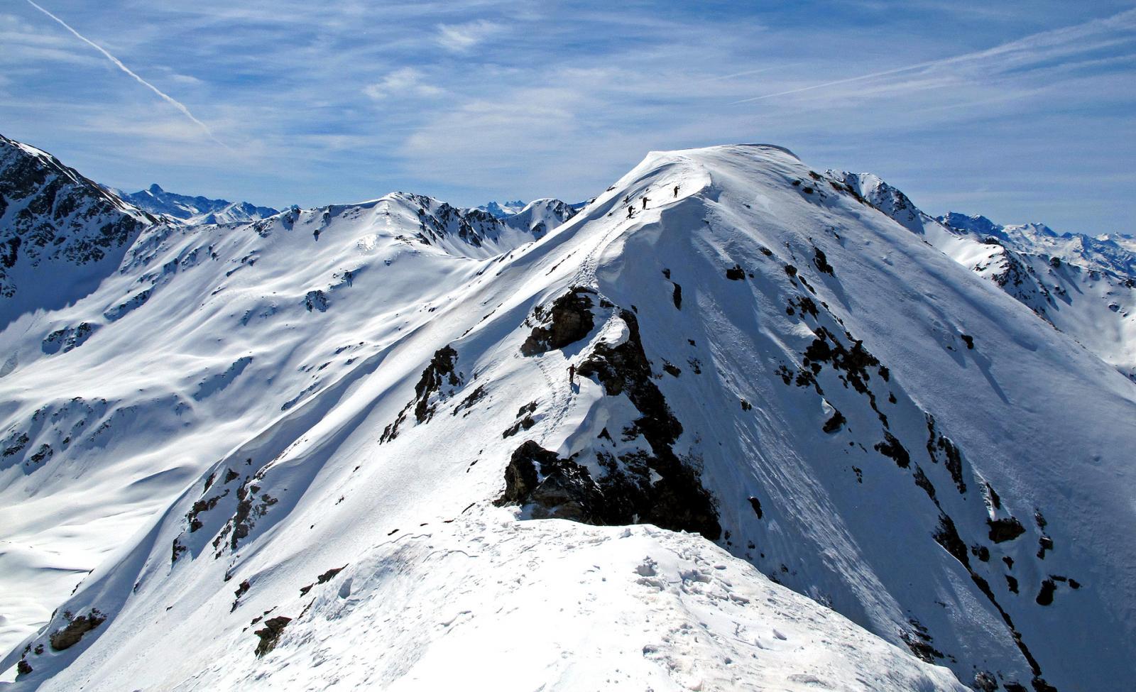 In 4 sulla vetta alpinistica