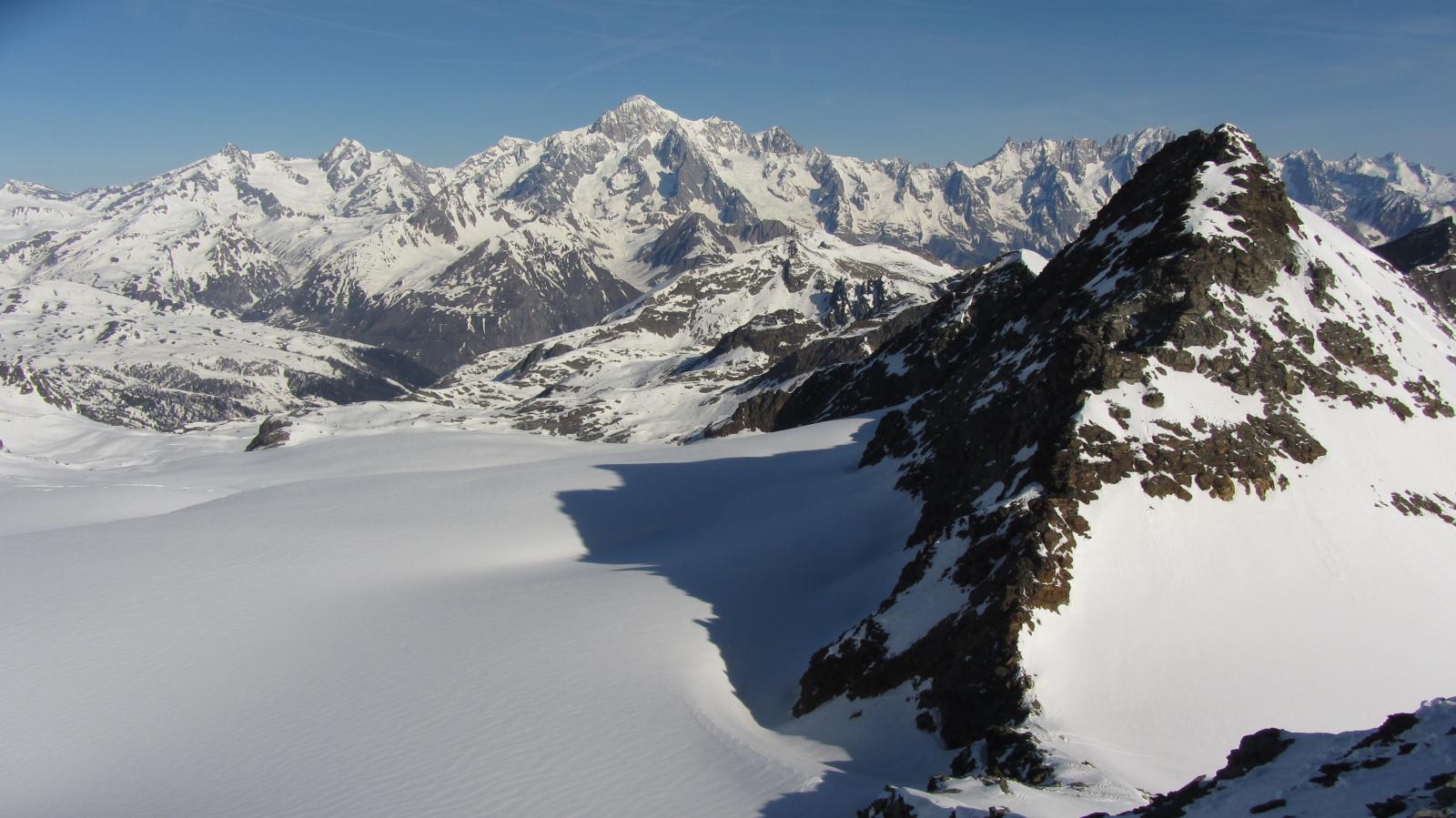 Grandioso panorama sul Bianco