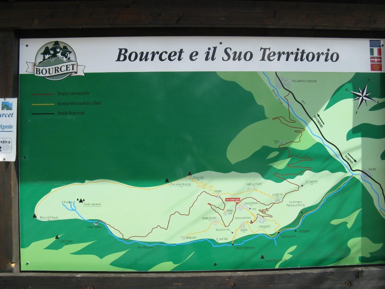 I sentieri del Bourcet